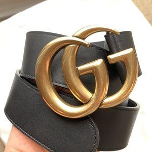 New Gucci GG belt
